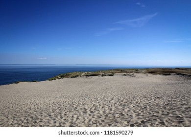 Scenic view of Parnidis Dunes near Nida village, Curonian Spit, Lithuania