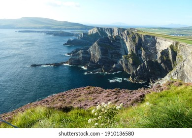 a scenic view of the Ring of Kerry - Wild Atlantic Way - Republic of Ireland