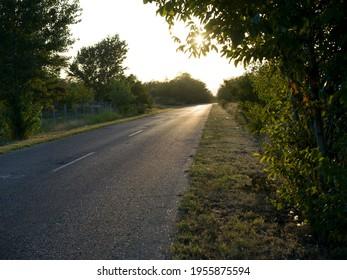 Scenic view of road, Kostol, Kladovo, Bor District, Serbia - Shutterstock ID 1955875594