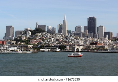 Scenic view of San Francisco, California