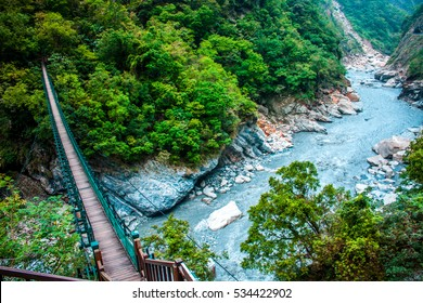 Scenic View in Taroko gorge, Taroko national park, Hualien, Taiwan
