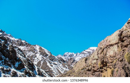 scenic view of Toubkal National Park