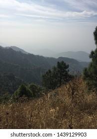 Scenic views of beautiful hill station kasauli