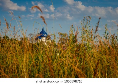 Scenic views of the historic architecture of the Russian city of Suzdal.