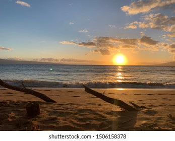 Scenic views of the ocean in Maui
