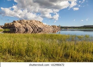 Scenic Willow Lake Landscape Prescott Arizona