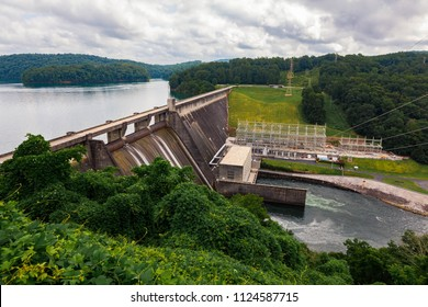 Scenics of Norris Dam in Tennessee