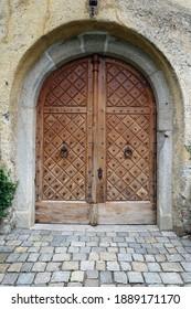Scenna castle - castle gate