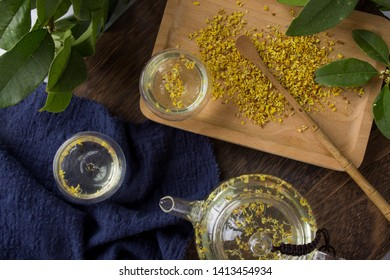 Scented sweet scented osmanthus tea soup