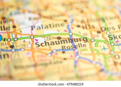 Roselle Illinois Map.Roselle Illinois Usa Stock Photo Edit Now 479679262 Shutterstock
