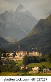 Scheffauer mountain seen from Kirchbichl