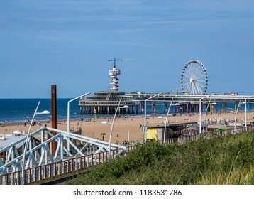 Scheveningen Beach, The Hague, South Holland, The Netherlands