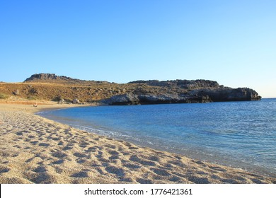 Schinaria beach at Rethymno Crete