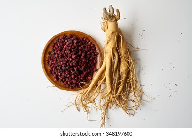 Schisandra and ginseng