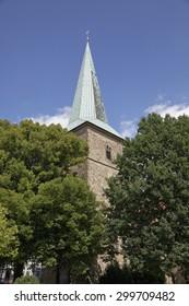 Schledehausen, Evangelical Lutheran St. Laurentius Church, Osnabrueck country region, Lower Saxony, Germany, Europe