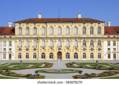 Schleissheim New Palace near Munich, Bavaria, Germany, Europe, 21. August 2012