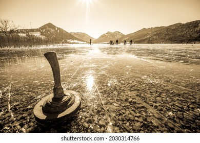 Schliersee lake in bavaria - germany