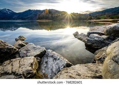 schliersee lake in bavaria - photo