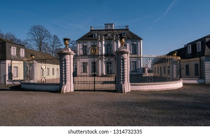 Schloss Falkenlust is a popular destination in Brühl, Germany.