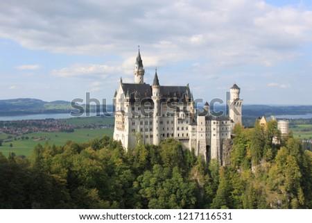 Schloss Neushwanstein Castle