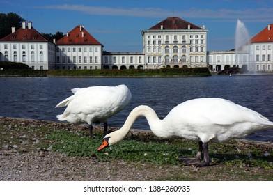 Schloss Nymphenburg in München, Germany