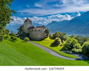 Schloss Vaduz Castle, Principality of Liechtenstein, Europe