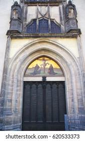 Schlosskirche church in wittenberg Martin Luther