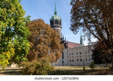 Schlosskirche in Wittenberg, Germany