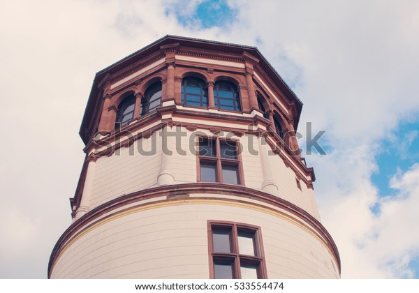 Schlossturm Tower in Dusseldorf, Germany