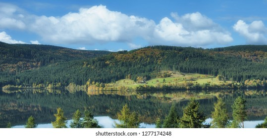 Schluchsee Reservoir in Black Forest,Germany