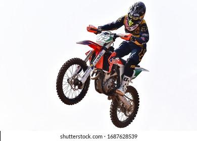 Schnaitheim,Germany-March 24,2019:46 Internationale Schnaitheim ADAC Motocross first roundon.