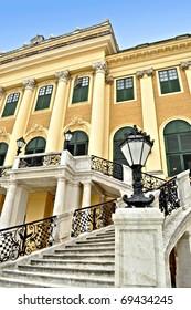 Schonbrunn Palace stairs, Vienna, Austria