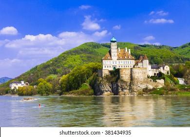 Schonbuhel castle, Danube river, Austria