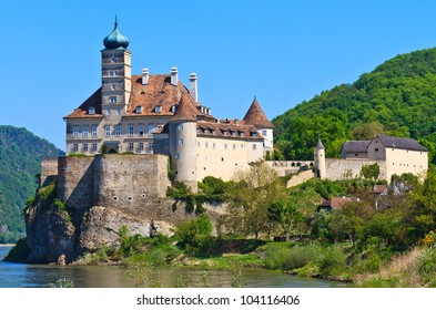 Schonbuhel Castle on the Danube river, Wachau Valley, Austria