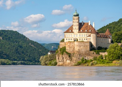 Schonbuhel Castle on the Danube river in Austria
