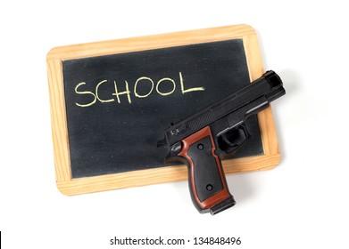 school armed