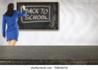School background and free space for your decoration