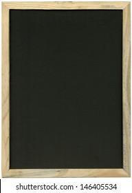 School blackboard isolated on white background