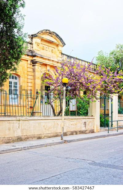 School for boys in Mgarr, Malta island