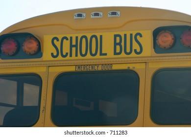 school bus back
