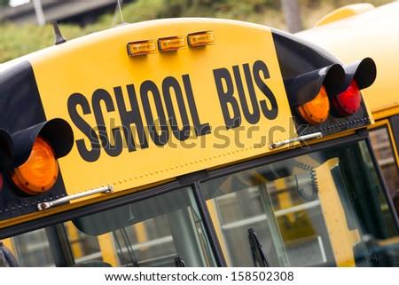 School bus children educational
