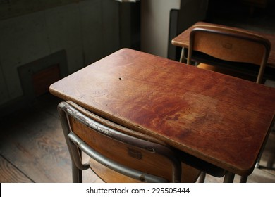school desks and chairs of japan