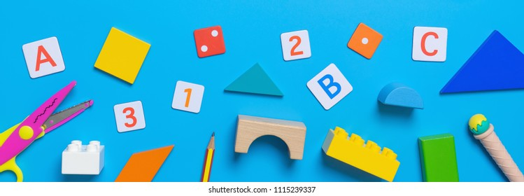 School Educational toy and stationary for Math concept