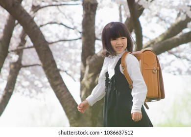School the first day in japan