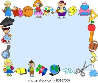 School frame - Shutterstock ID 83167507