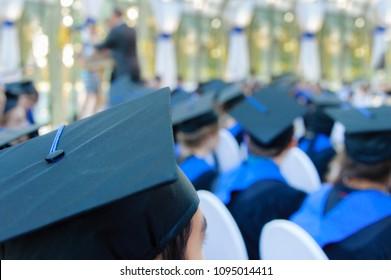School graduation class