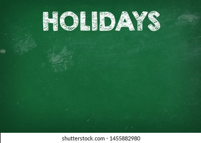 School green blackboard texture background