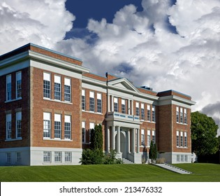 School - historic North America's brick school