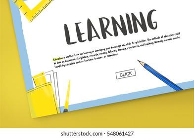 School Knowledge Learning Academics Study