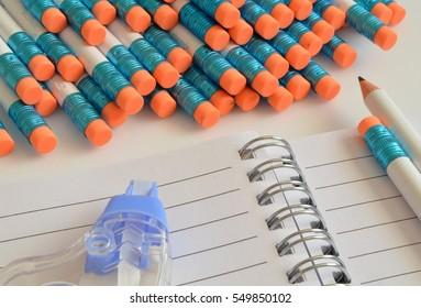 school pencils and school supplies